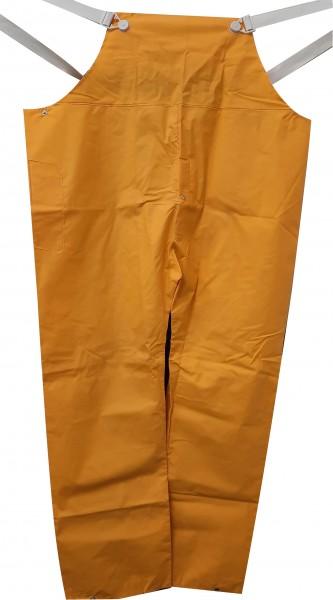 Gelbe PVC-Latzhose