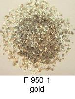 Designer-Farbchips, Glitter silber & gold