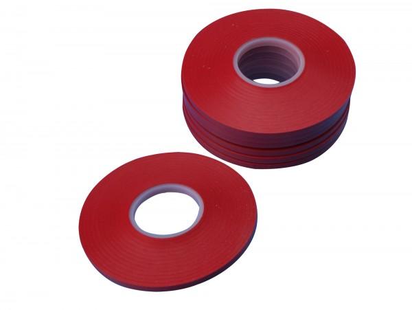 Konturenklebeband/Zierlinienklebeband, rot