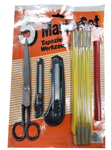 Masterset Tapezier Werkzeuge