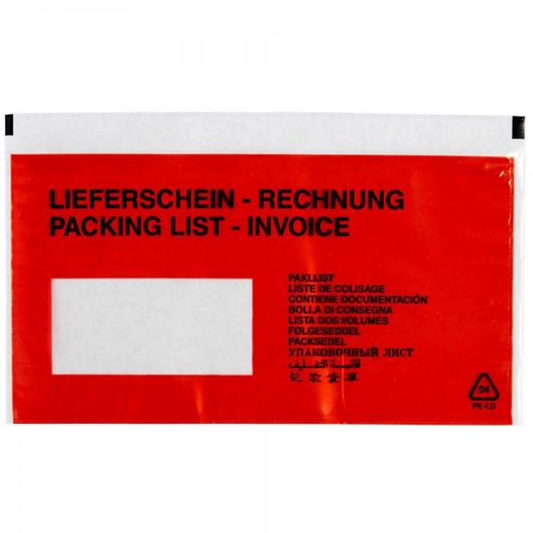 Lieferschein- & Rechnungstaschen, 1000 St.