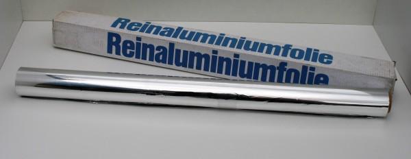 Reinaluminiumfolie, 99,5 % 1 m x 50 lfm, 50 my