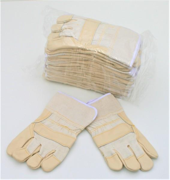 Möbellederhandschuhe, Gr. 10,5